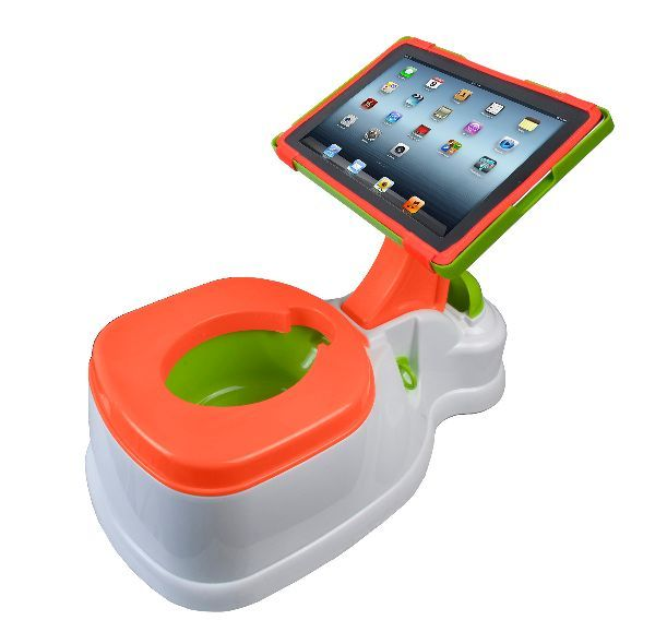 2-In-1 iPotty with Activity Seat for iPad - Why does it just have to be for children?!?
