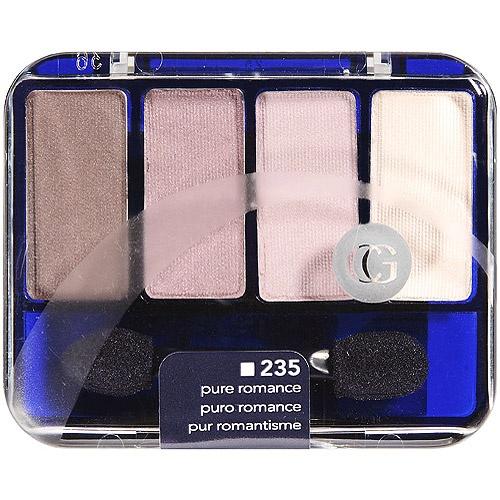 Kit de 4 sombras CoverGirl Color: Puro Romance Precio: $4.84