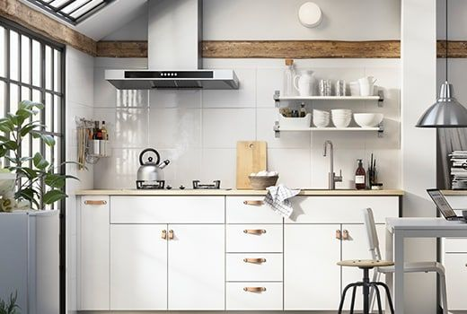 Veddinge Blanc Meuble Cuisine Cuisines Maison Meuble Haut Ikea