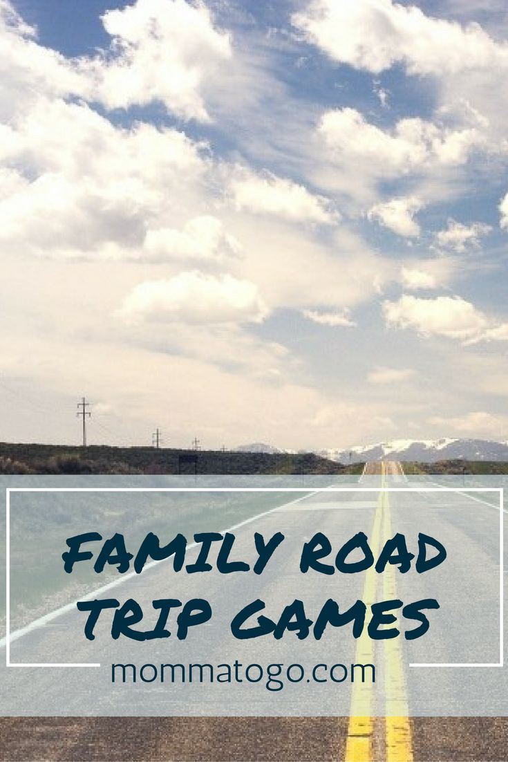 The best road trip games your family will love! No planning or assembly required! mommatogo.com