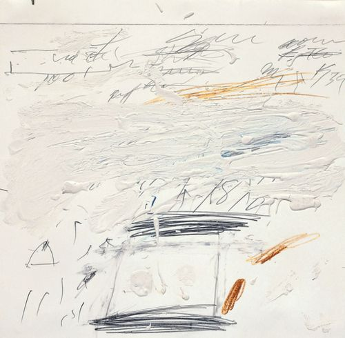 Cy Twombly • Poems to the Sea, 1959.