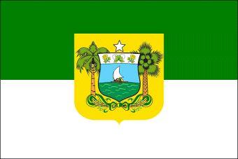 RIO GRANDE DO NORTE BRASILE BANDIERA   Estado do Rio Grande do Norte , dal 1957