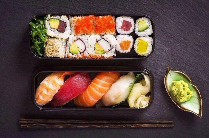 traditionelles japanisches essen sushi essen