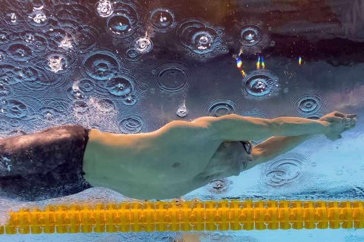 Australia's Kyle Chalmers takes part in the Men's 100m Freestyle Final during the swimming event at the Rio 2016 Olympic Games at the Olympic Aquatics Stadium in Rio de Janeiro on August 10, 2016.   / AFP / François-Xavier MARIT        (Photo credit should read FRANCOIS-XAVIER MARIT/AFP/Getty Images)