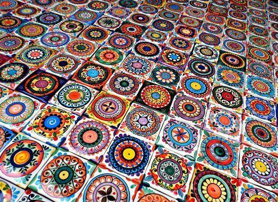 Las 25 mejores ideas sobre azulejos mexicanos en for Azulejos artesanales