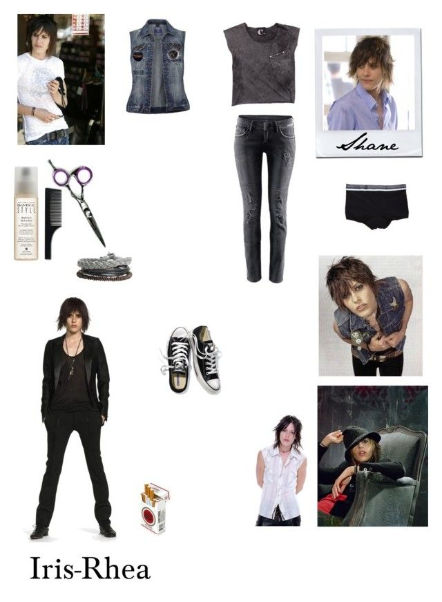 """""""The L Word - Shane McCutcheon"""" by iris-rhea ❤ liked on Polyvore featuring Victoria's Secret, H&M, Jack & Jones, Diesel, Imm Living and Alterna"""