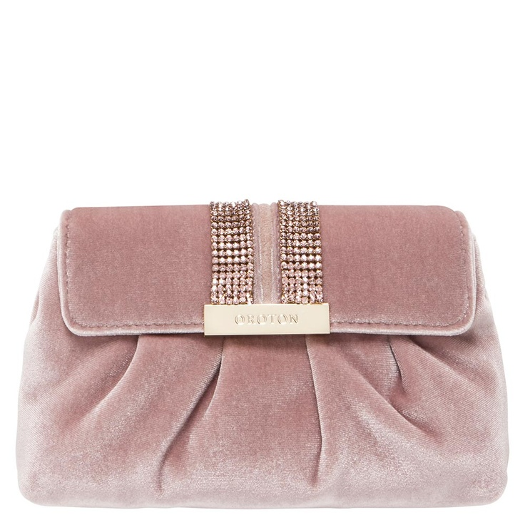 Opera velvet clutch | Oroton Luxury Accessories