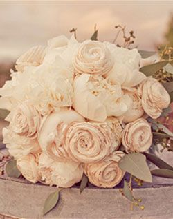 White Ranunculus and Peonies