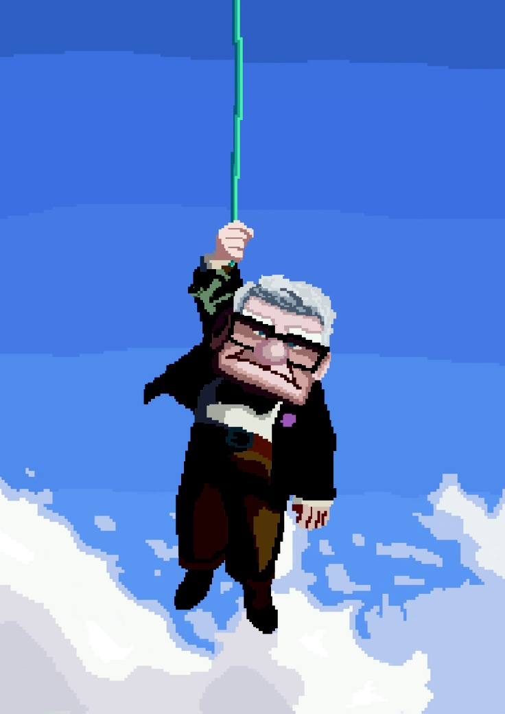 8-bit poster for Up