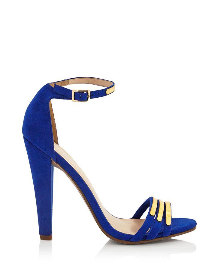 Cara cobalt ankle strap heels by Carvela Kurt Geiger on secretsales.com