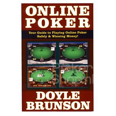 Doyle Brunson, the legendary two-time World Series of Poker champion, is the greatest poker player in the world. He is the author of the bible of Poker, Super System, and its fabulous companion volume, Super System 2.  Order now online at Pokershop this great poker book online poker by Doyle Brunson. Your guide to Playing Online Poker Safely & Winning Money!