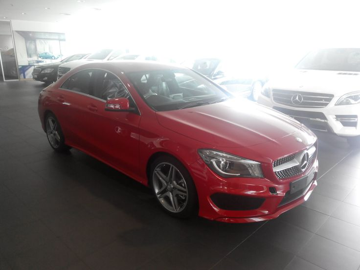 Walkaround Mercedes Benz CLA 200 Sport Jupiter Red Color