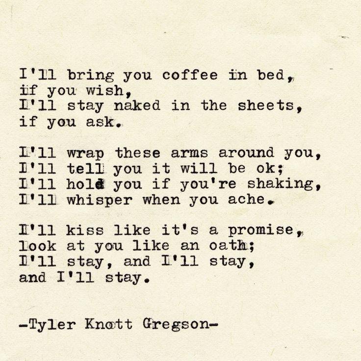 Typewriter Series #2161 by Tyler Knott Gregson
