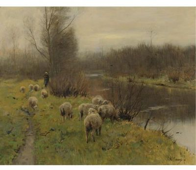 ANTON MAUVE  Was blown away by this painting when I saw it at Mauve exhibition in Laren