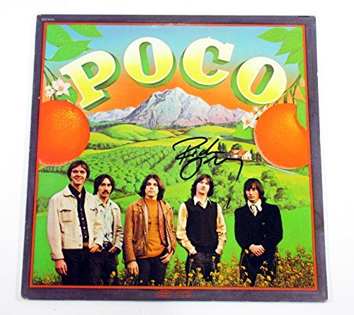 Richie Furay Signed LP Record Album Poco w/ AUTO  Signed Record Album With Authentic Autograph(s)  The record displays only minor wear consistent with its age.  This signed album comes from a large collection of autographs that we recently purchased from a long time collector  DF011730