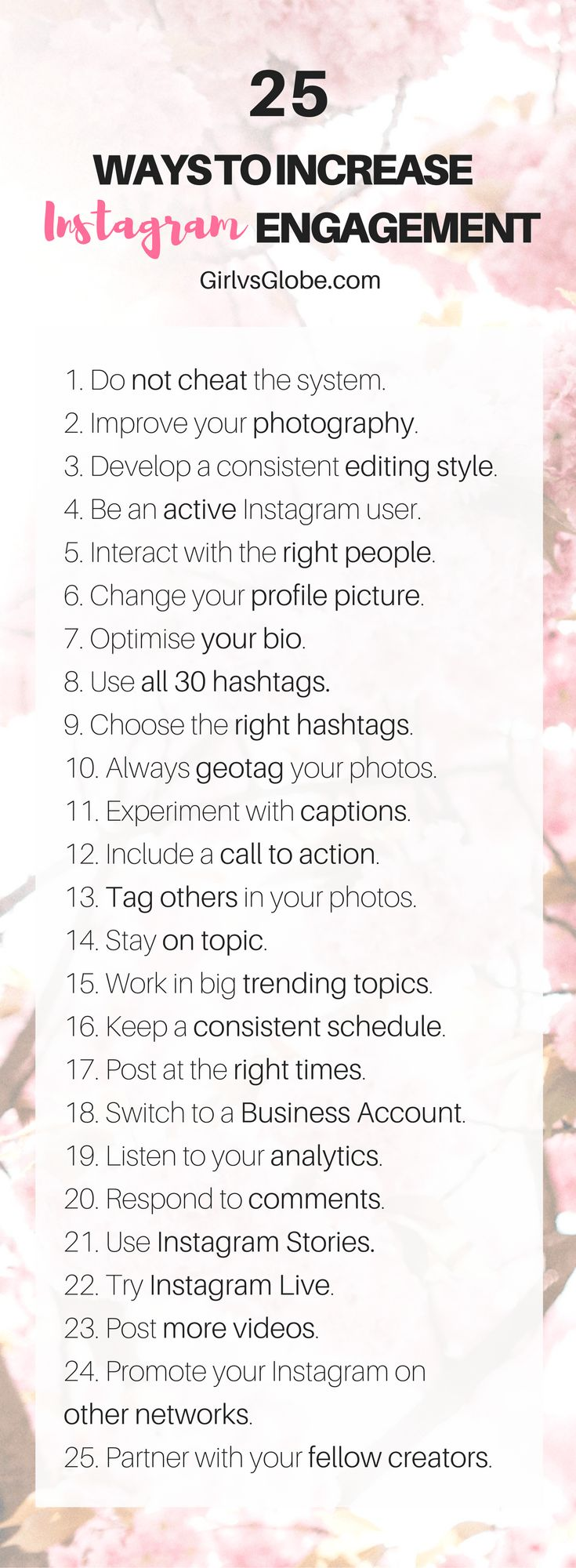 If you're looking to get more comments and get more likes on Instagram, this is the perfect starting point. These 25 tips will help you beat the algorithm and increase Instagram engagement in no time! How do I know that? Because I was able to increase my engagement rate using these exact tips at a time when most people's are quickly nosediving. My number of average likes received grew by 29.3% over the course of last month! None of the tips I'm about to share require you to pay for any…