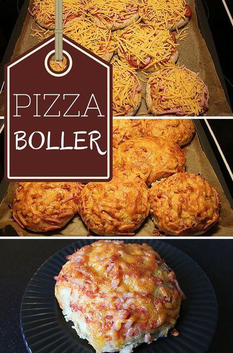 Supergode pizzaboller, der er nemme at lave og smager fabelagtigt. Bonusinfo: de kan sagtens fryses.