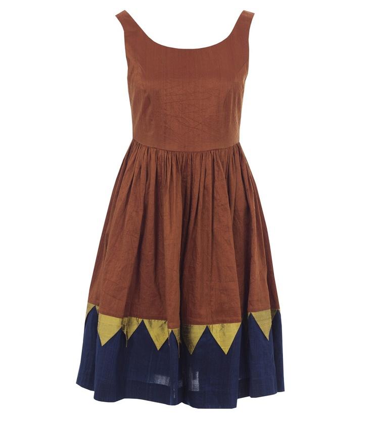 gorman dress. love these colors!