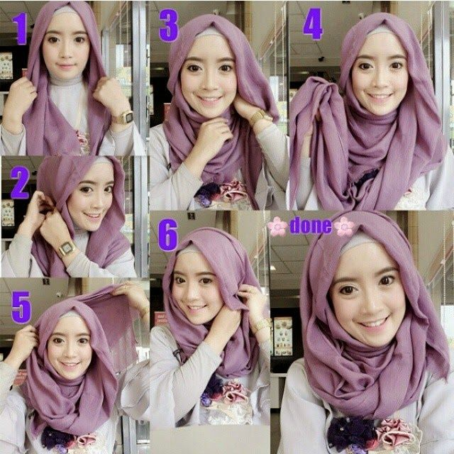 Beautiful Pin Back Hijab Tutorial | My Sweet Escape