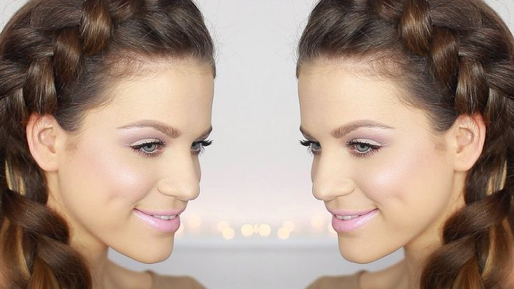 { Soft Girly Glam Makeup Tutorial } from the loveliest Karin Dragos...<3  #makeup #beauty #video #products #tutorial