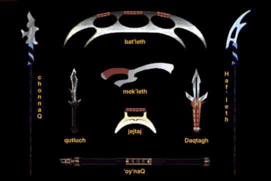 klingon   the qutluch is the traditonal weapon of the klingon assassin since ...