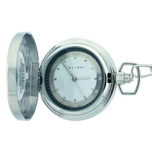 Colibri Navy Engraved Pocket Watch PWQ097622J Colibri. $27.95