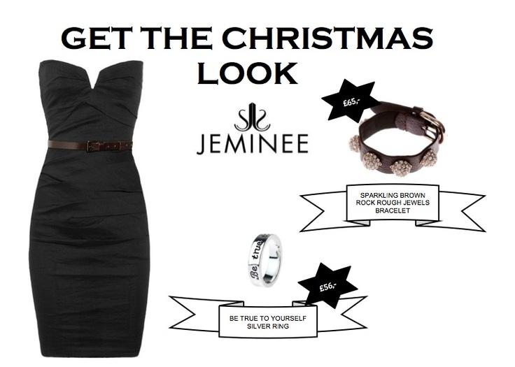- SPARKLING BROWN ROCK ROUGH JEWELS BRACELET £65,00  - BE TRUE TO YOURSELF SILVER RING £ 56,00    #sexy #fashion #jewellery #swarovski #celeb #trend #diamonds #gifts #xmas #jemineejewellery #uk #love #power #dress