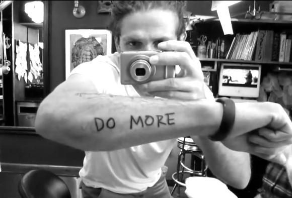 Casey Neistat - Do More - tattoo