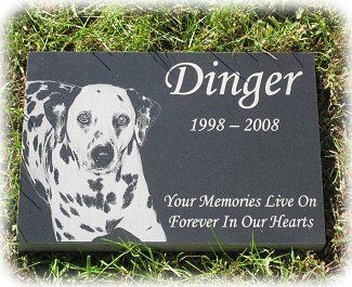 Used this company for my last dog's memorial stone - beautiful work!  Pet Urns ,Pet Grave Markers, Pet Memorial Stones , Pet Headstones   4everinmyheart