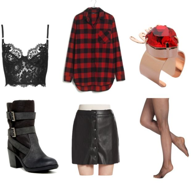 I LOVED Vanessa's style :D --- Geek Chic: Fashion Inspired by Deadpool - College Fashion
