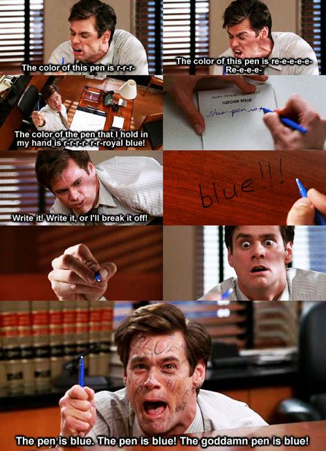 liar liar... Watched this tonight!! Never get tired of old Jim Carrey movies!!