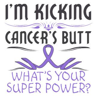 Hodgkins Lymphoma Kicking Cancer Butt Super Power