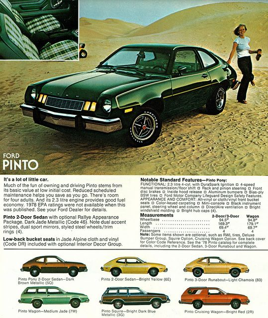 1978 Ford Pinto 2 Door Sedan with Rallye Appearance Package | Flickr - Photo Sharing!