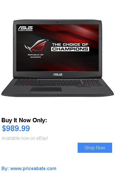 general for sale: Asus Rog G751jl-Wh71(Wx) 17.3 Intel Core I7 4720Hq Gaming Laptop BUY IT NOW ONLY: $989.99 #priceabategeneralforsale OR #priceabate
