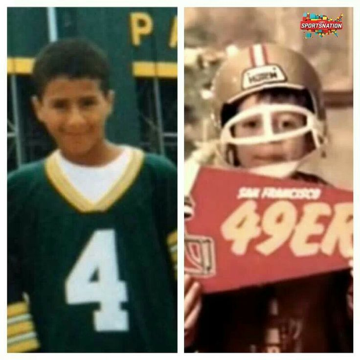 Aaron Rodgers and Colin Kaepernick