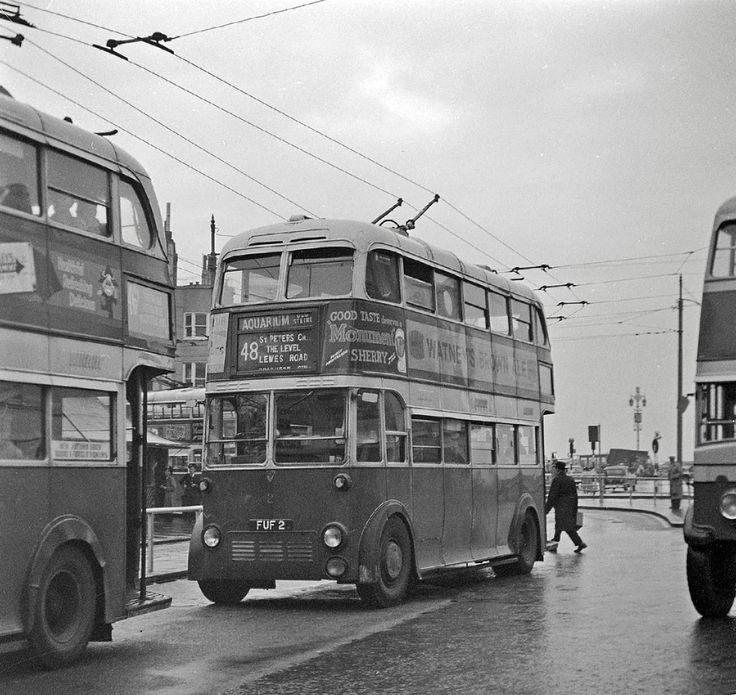 Brighton Trolleybus FUF 2