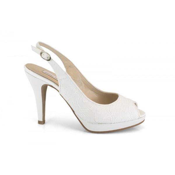 12567-013D angel alarcon zapato de novia. Zapato de novia de la marca Ángel Alarcón