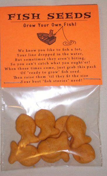 Gag Gift Fish Seeds Grow Your Own Fish Novelty Joke Gag Gift Prank Party Favor. $2.25, via Etsy.: