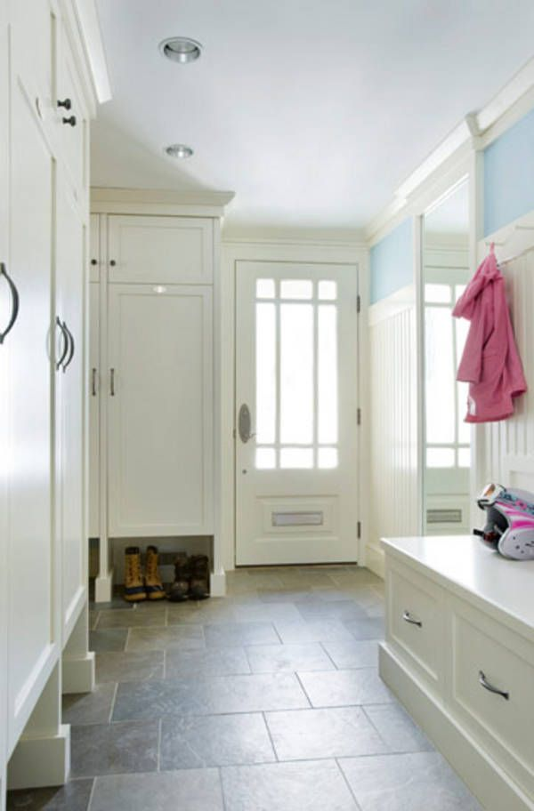 136 best images about kitchen on pinterest for Entryway lockers with doors