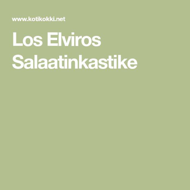 Los Elviros Salaatinkastike