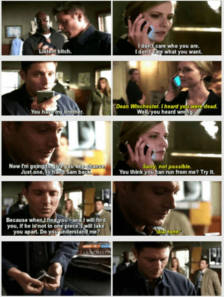 """SPN 12x01: Keep Calm and Carry On - When I first saw this scene I was like """"Shit just got real"""""""