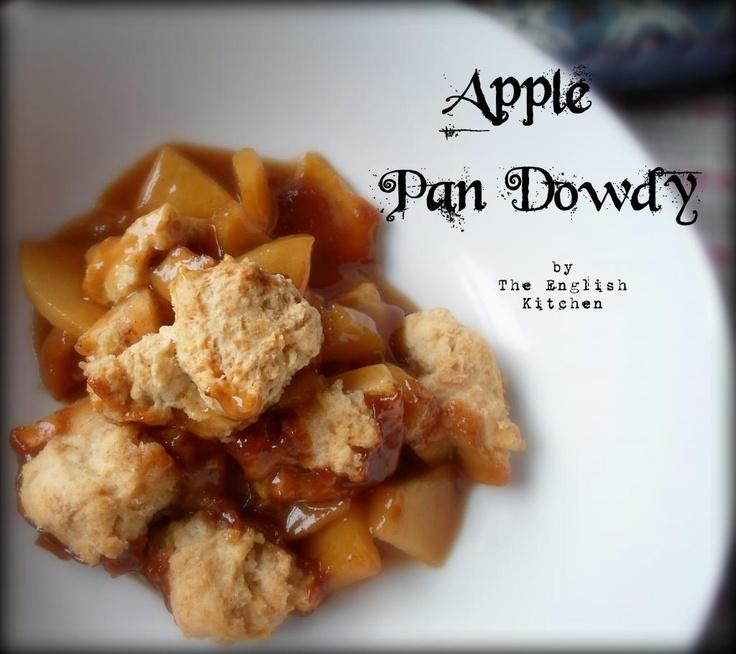 Apple pandowdy from The English Kitchen | surf n turf | Pinterest