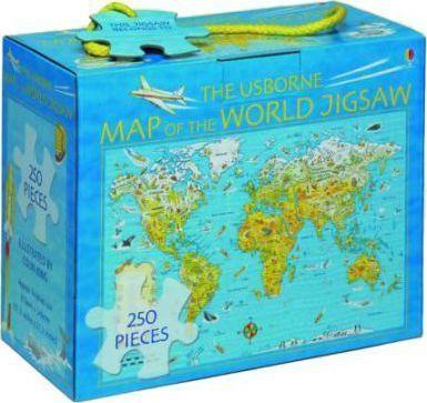 The Usborne Map of the World Jigsaw