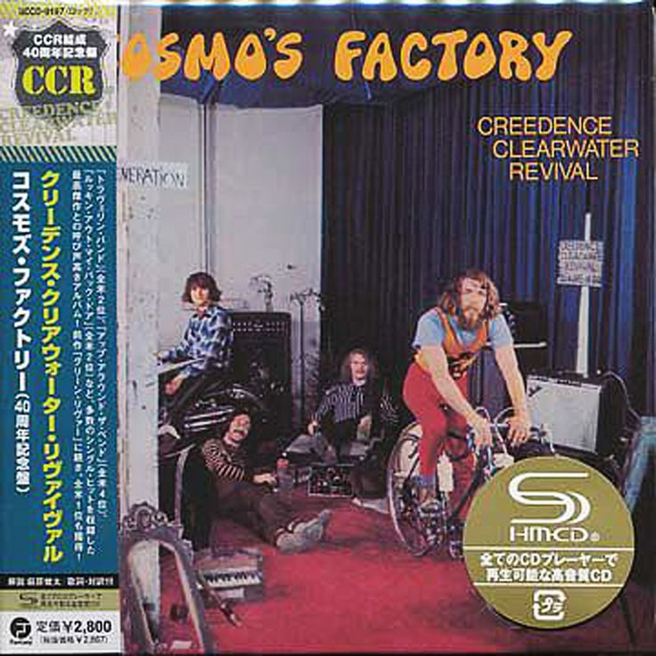 Creedence Clearwater Revival - Cosmo's Factory - Japan Mini LP SHM - UCCO-9197 - CD