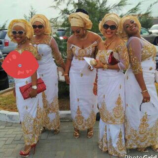 Step up your Aso-Ebi Style Game: Unleashing Sexy, Beautiful, & Flattering Aso Ebi Styles That Will Leave you Speechless - Wedding Digest Naija