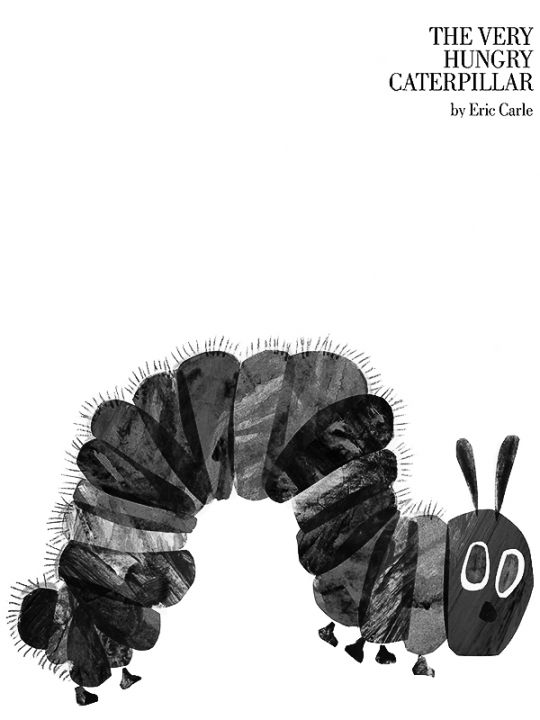 Kindle 4 Screensaver: The Very Hungry Caterpillar