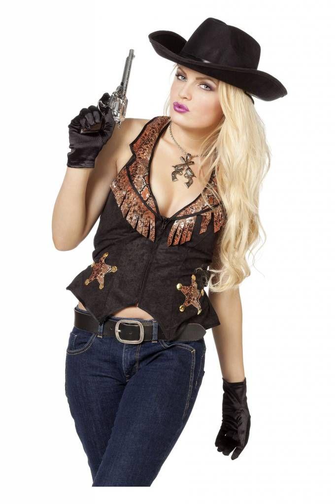 Cowboyvest vrouw Nr.1 in carnavalskleding en feestartikelen. Goedkope carnavalskleding en carnavalskostuums online bestellen. Snelle levering van jouw carnavals