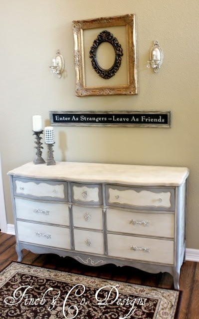 Annie Sloan Paint was used in this creation!