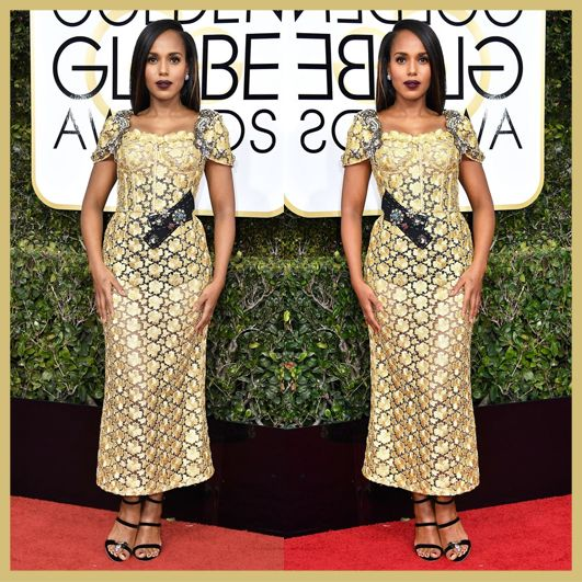 Kerry Washington, Golden Globe Awards 2017, MyFashgram