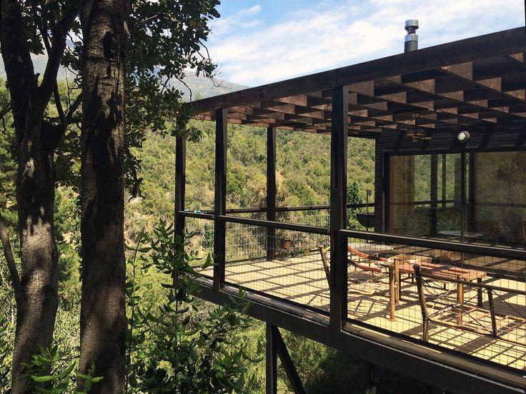 La Pajarera Lodge Shangri-La  / SAA  arquitectura + territorio Railing